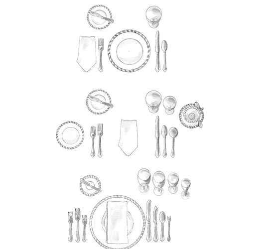 The Right Way To Set The Table  sc 1 st  Pinterest & 46 best Formal and Informal Table Settings images on Pinterest ...
