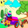 Play free online Kid's coloring: Happy train flash game, Board Games, Customize, Other flash games from Sooper Games. Kid's coloring: Happy train this is sunny day, a pleasant walk a happy train.