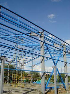 Diseño y Construcción de Estructuras Metálicas para Hangares, Bodegas, Naves Industriales y Grandes Superficies en México y Colombia.