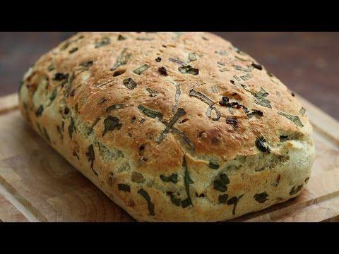 Υπέροχο ψωμί με καραμελωμένα κρεμμύδια | Συνταγές - Sintayes.gr