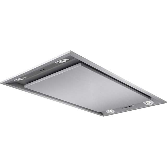 Neff I99C68N1GB 90cm Built In Integrated Cooker Hood - Stainless Steel