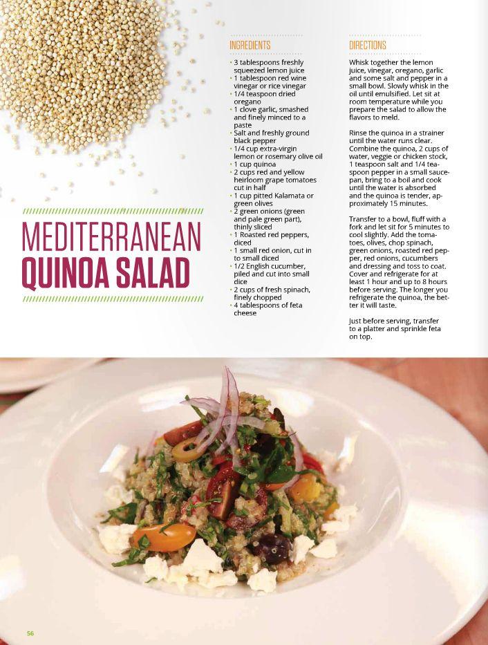 Mediterranean Quinoa Salad | Spooky Nook Sports