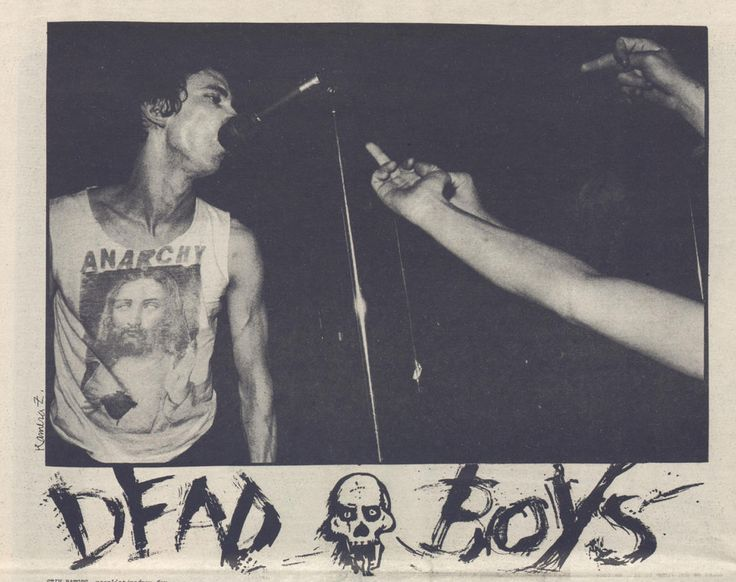 Dead Boys: Stiv Bators,Search and Destroy Zine...