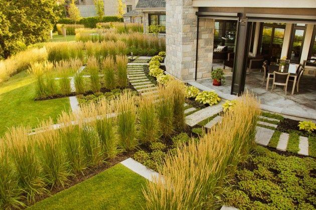 Jardin Panorama sur le fleuve  | Stuart Webster Design