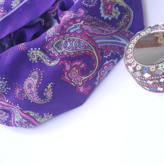 Check out this item in my Etsy shop https://www.etsy.com/listing/472644809/cotton-turkish-scarf-amethyst-paisley
