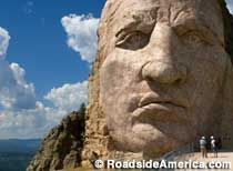 Bigger than Mt. Rushmore. More than a head. Decades spent carving and blasting by generations, like the pyramids of old. And still not finished!   202 Ave. of the Chiefs, Crazy Horse, SD  Directions:Off of US 385/16, six miles north of Custer or 17 miles southwest of Mount Rushmore.