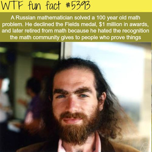 Russian mathematician solves a 100 year old problem - WTF fun facts