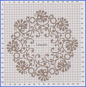 monochromeCounting Crossstitch, Charts, Circles Round, Paper Mache, Biscornu Crosses Stitches, Round Boxes, Mache Covers, Embroidery, Sewing Patterns