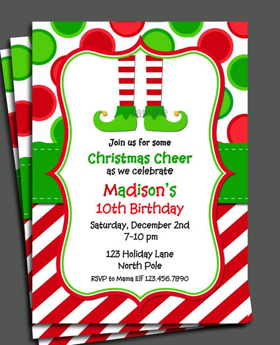 Christmas Party Invites: 17 Best Images About Christmas Party Invitations On