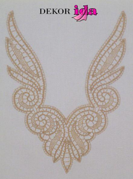 Disegno da realizzare come ali d'angelo