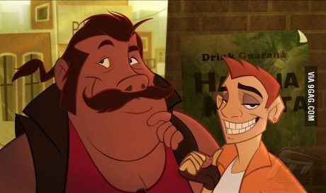 If Timon and Pumbaa were humans