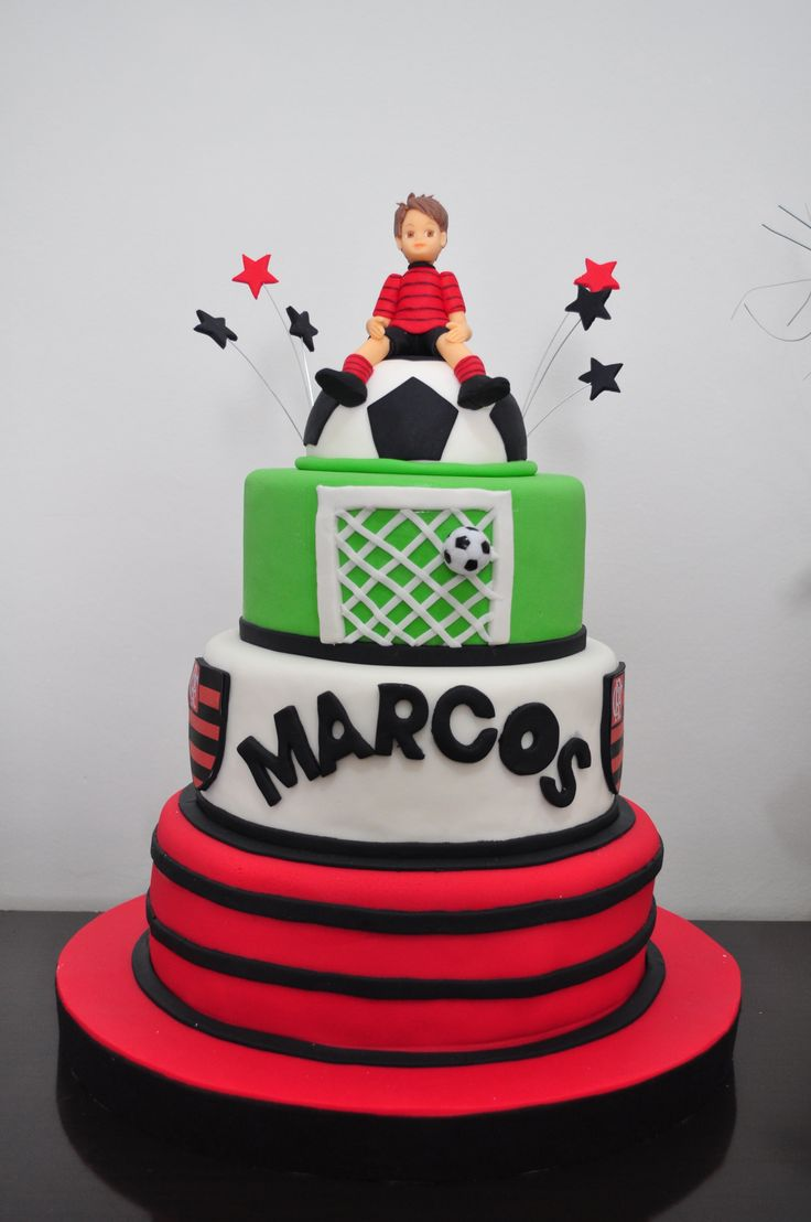 Bolo tema do Flamengo