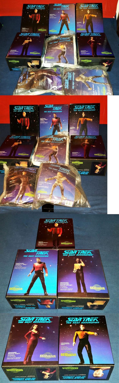 Star Trek 49211: Geometric (8) Tng Vinyl Kits - Picard,Troi,Data,Riker,Geordi,Worf,Gowron,Romulan -> BUY IT NOW ONLY: $90 on eBay!