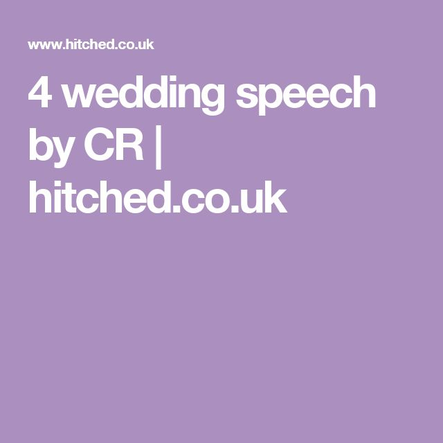 Best 25+ Wedding speech examples ideas on Pinterest Personal - example speech