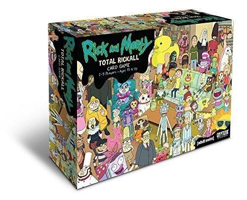 Card Game Rick & Morty Total Rickall Cooperative Card Game