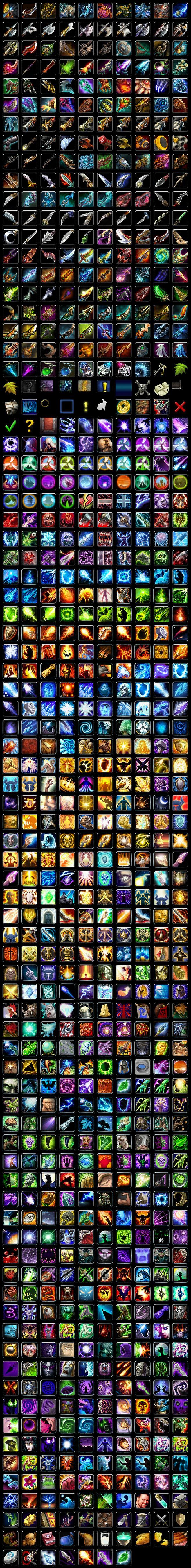 《魔兽世界》3.0图标_05