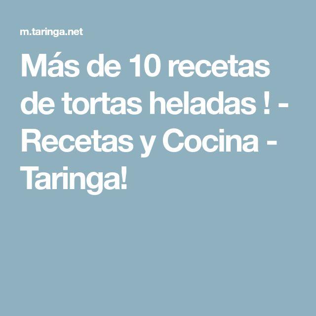Más de 10 recetas de tortas heladas ! - Recetas y Cocina - Taringa!