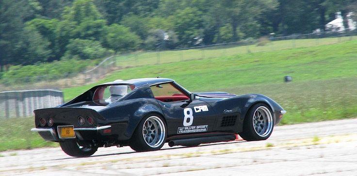 """Scott's """"Black Mamba"""" '72 Corvette Stingray is powered by"""