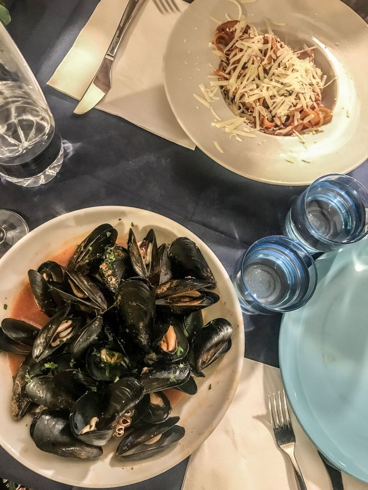 You shouldn't miss pasta in Syracuse, Sicily. We ate maybe the best pasta in Italy.