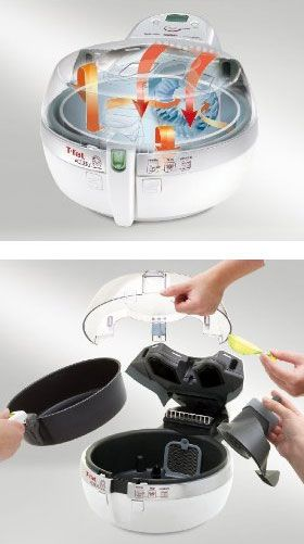 T-Fal Actifry low-fat multi-cooker. Came across a recipe for air fried chicken and had never heard of the product before. Might think about this.
