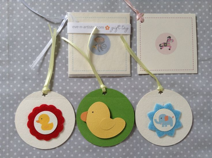 Gift tags for kids in the boutique stores by Eve & Artistry.