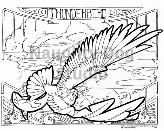 Rainbow Crow Coloring Page Collection
