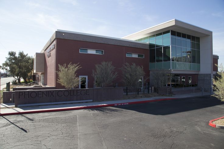 """The new Phoenix College Center for Nursing Excellence - my """"home"""" for the next 2 years. So blessed to be here!"""