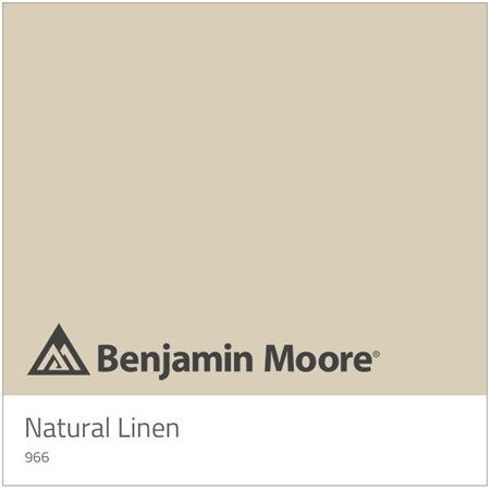 Image result for Benjamin Moore colors Natural Linen 966