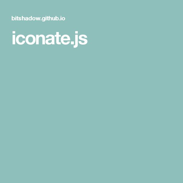 iconate.js