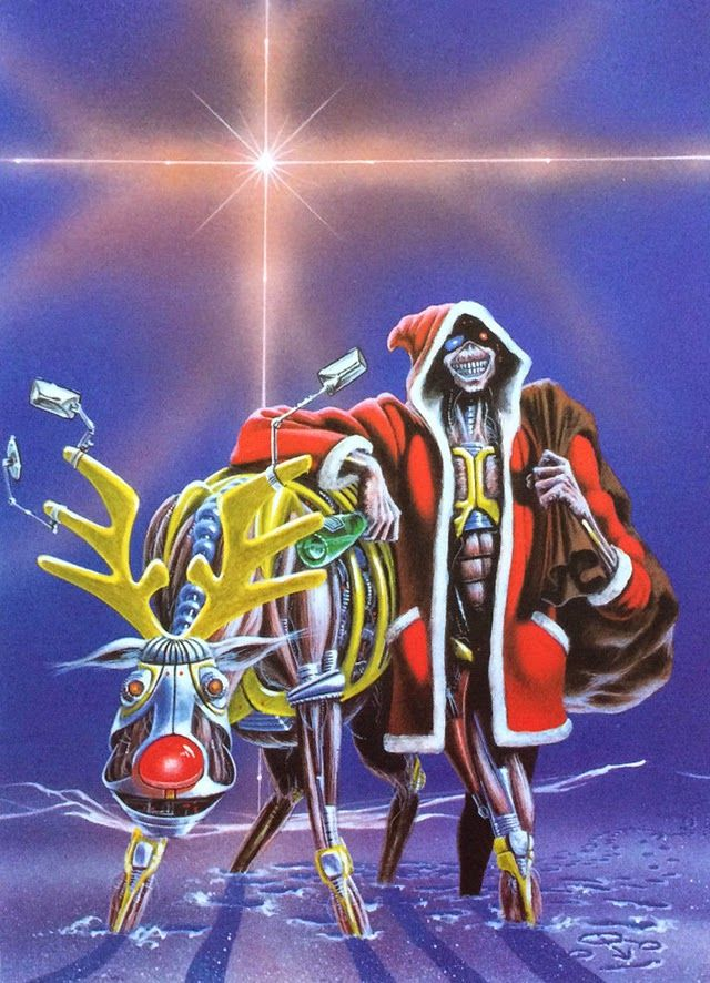 Merry Christmas! Conheça todos os cartões de natal do Iron Maiden | IRON MAIDEN 666 - BRASIL