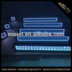 Source Dual row 4D lens different sizes 18W to 288w Jeep truck led offroad light bar on m.alibaba.com