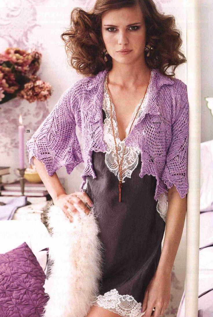 Luxury Knitting Patterns For Boleros And Shrugs Ornament - Blanket ...