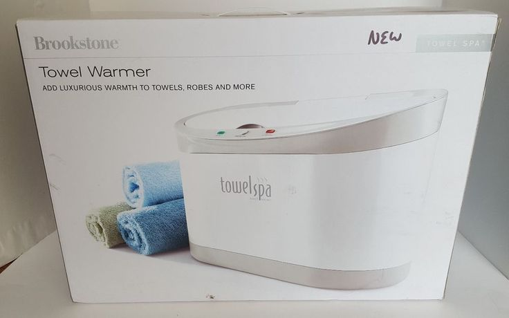 Brookstone Towel Spa Extra Large Towel Robe Blanket Warmer Great For Hats Gloves #Brookstone
