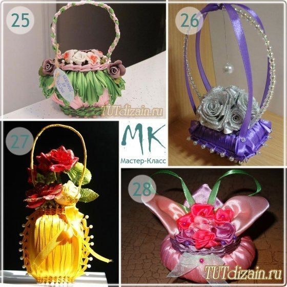 How to DIY Ribbon Wrapped Soap Floral Basket | www.FabArtDIY.com LIKE Us on Facebook ==> https://www.facebook.com/FabArtDIY