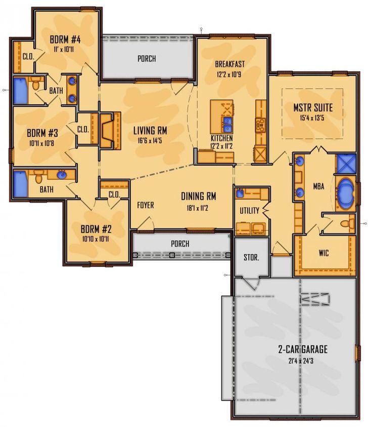 #659825 - IDG11115 : House Plans, Floor Plans, Home Plans, Plan It at HousePlanIt.com