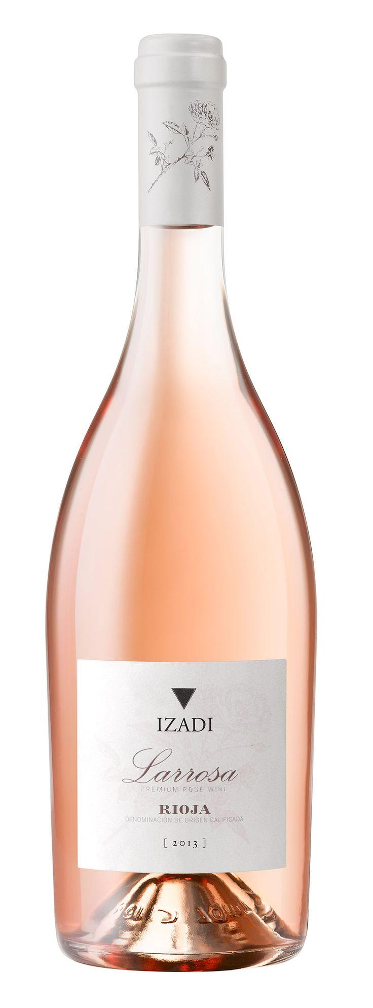Bodegas Izadi entra en el mundo de los rosados de la mano de Larrosa, un vino único para el que se ha utilizado uva 100% garnacha de cepas viejas plantadas a casi 790 metros de altitud, quizá, uno de los viñedos más altos de la D.O.Ca. Rioja.  #taninotanino #vinosmaximum