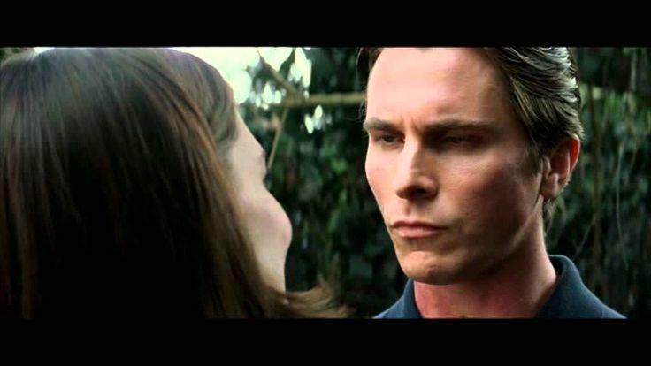 Final Scene with Bruce Wayne and Rachel Dawes in Batman Begins (2005) - YouTube