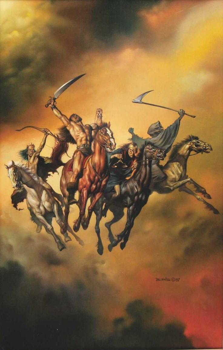 4 horsemen of the apocalypse Dr gottman uses the metaphor of the four horsemen of the apocalypse to describe communication styles that can predict the end of a relationship: criticism, contempt, defensiveness, and.