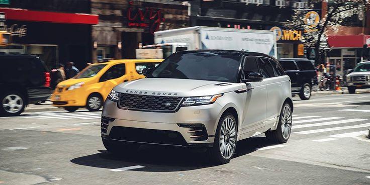 Zerafeti ve gücüyle şehre hükmeder. Yeni Range Rover Velar.