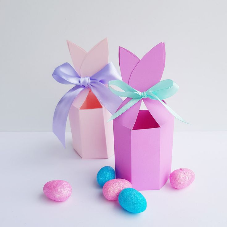 FREE Bunny Ears gift box Printable for Easter