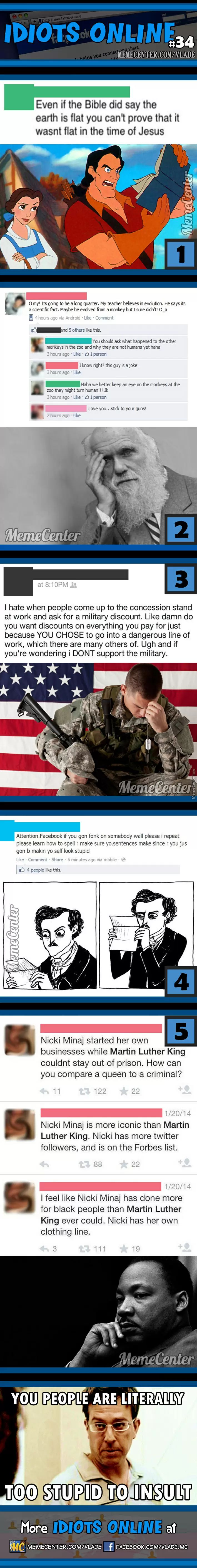 Idiots Online #34 - Meme Center <<The one about the military and…