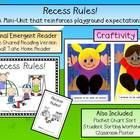 Back to school time means teaching and re-teaching rules and procedures to set the expectations for the whole year.  This cute Emergent Reader and ...