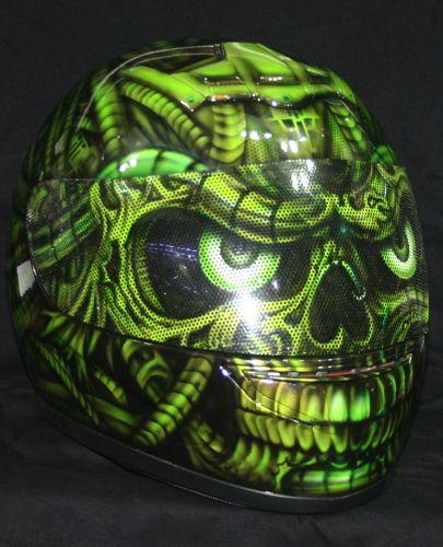 ☆ Custom Cyborg Robot Skull Motorcycle Helmet :¦: Ebay Shop: Alera.of.thailand  ☆