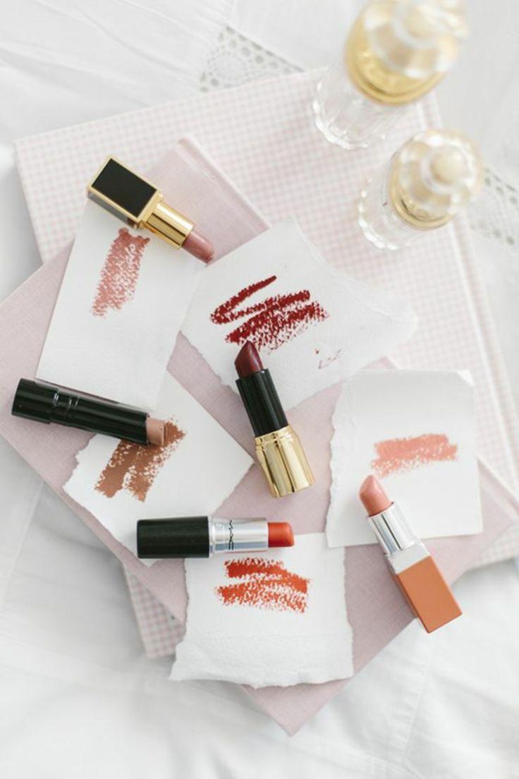 Auswahl der richtigen Lippenstiftfarbe – Make-up-Tipps – Make-up & Beauty