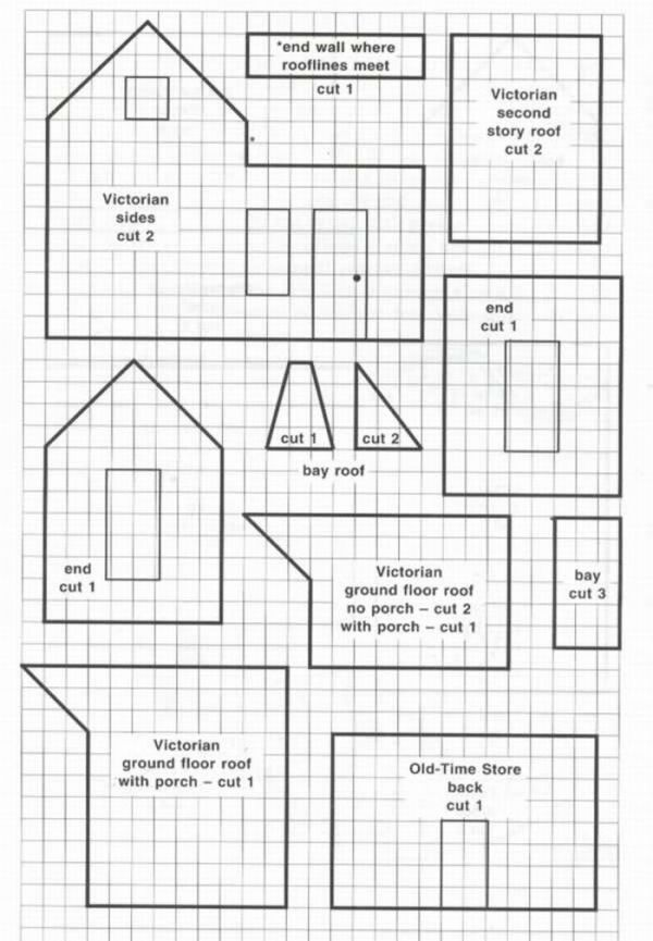 It is a graphic of Current Gingerbread House Patterns Printable