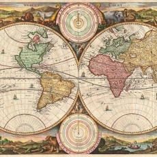 7 best vintage map images on pinterest antique maps old maps and 1730 stoopedaal world map wallpaper 2195 gumiabroncs Image collections