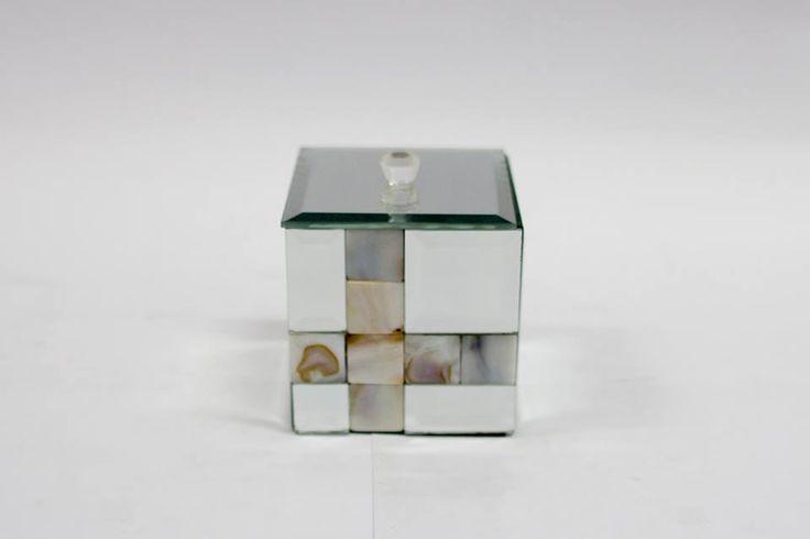 Caixa decorativa espelhada