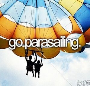--> On our road-trip in Summer 2012, mom & I crossed this off of both of our bucket lists. If you're ever in Cape Cod, be sure to his up Dennis Parasail in East Dennis - they were a blast! ~AD #bucketlist