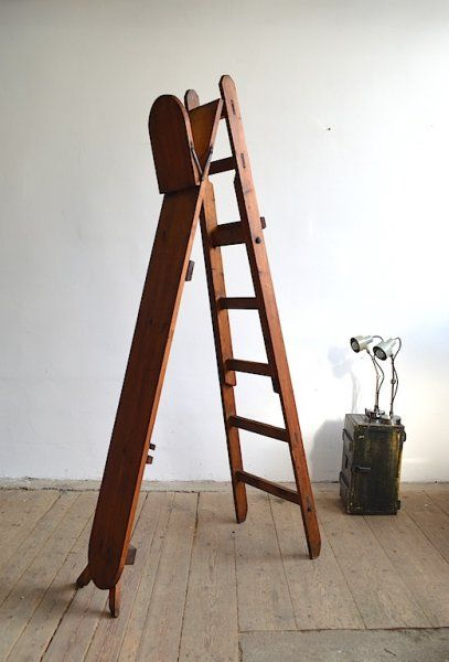 Library wood ladder | artKRAFT - Furniture and Design
