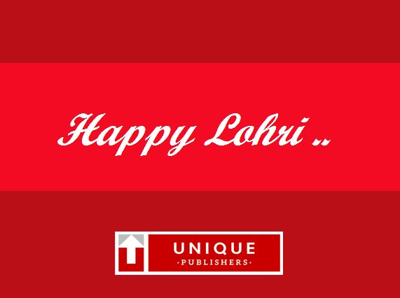 Happy Lohri-2017 #UniquePublishers